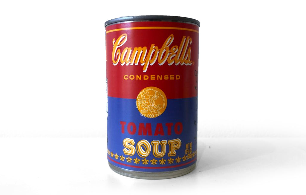 Andy Warhol x Campbell's [RED] - Galerie Finds
