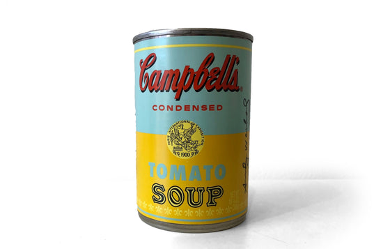 Andy Warhol x Campbell's [TEAL] - Galerie Finds