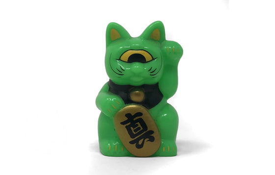 Fortune Cat Baby [Green] by RealxHead