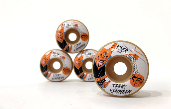 Terry Kennedy x Neckface [Wheels] by Baker Skateboards