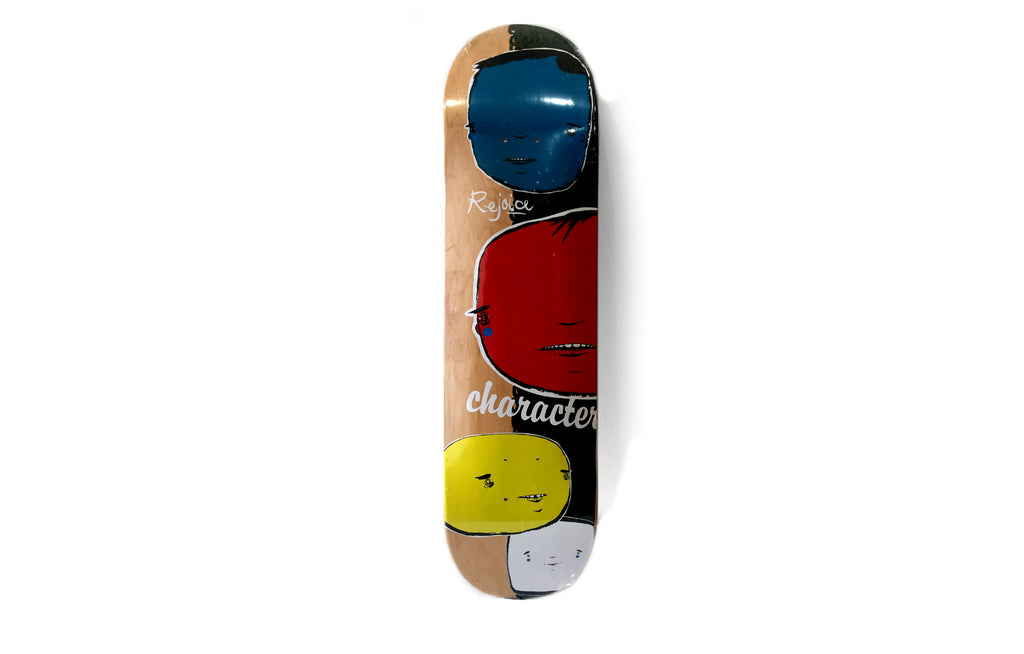 Character Skate Deck by Rejoice