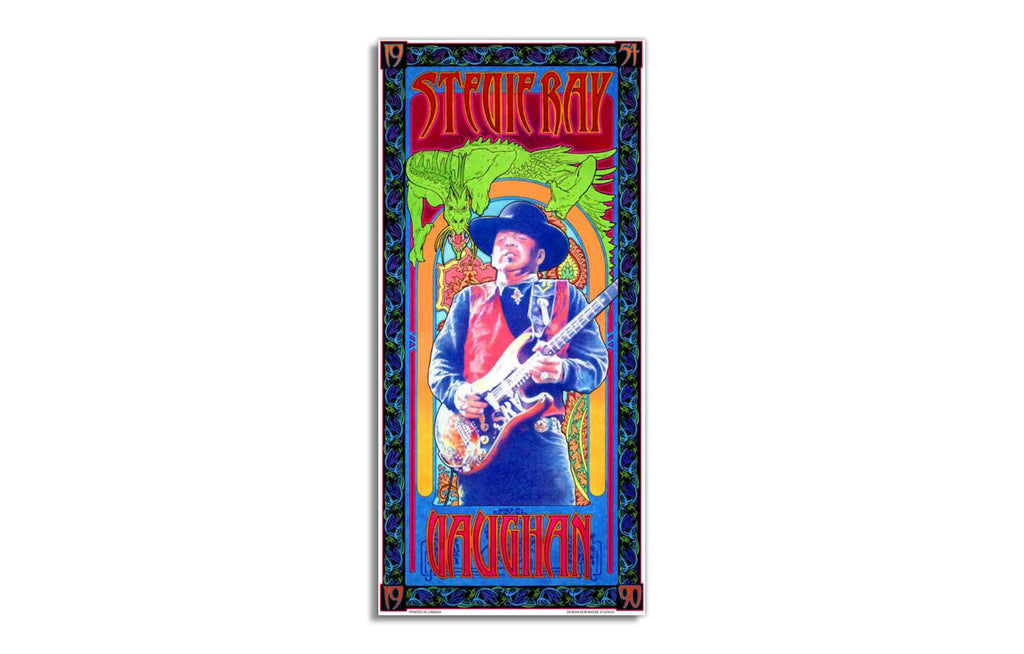 Stevie Ray Vaughn by Bob Masse - Galerie Finds