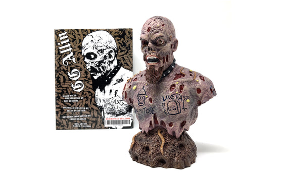 GG Allin 25th Deathiversary Bust by Aggronautix
