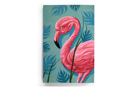 Queen of Flamingos by Andrew Ghrist