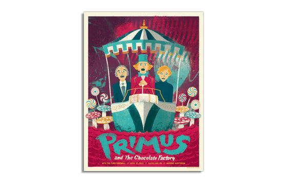 Primus and the Chocolate Factory by Eric Nyffeler