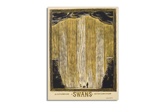 Swans [Chicago 2011] by Dan Grzeca