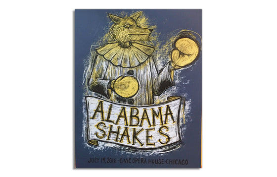 Alabama Shakes [2016] by Dan Grzeca