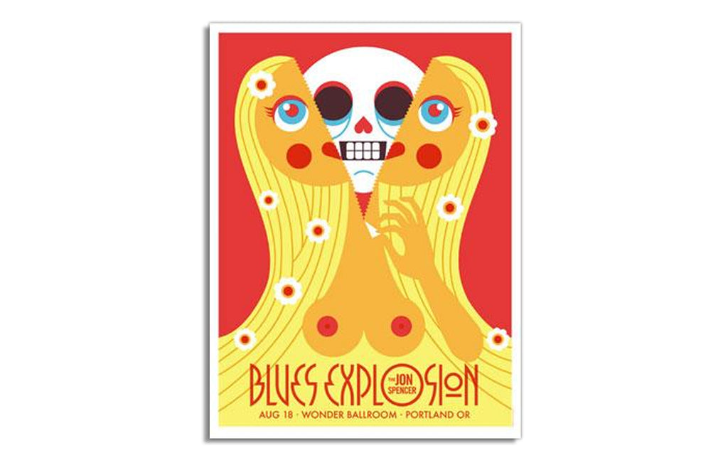 Jon Spencer Blues Explosion by Dan Stiles