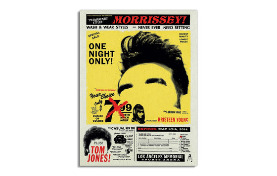 Morrissey w/ Tom Jones by Kii Arens