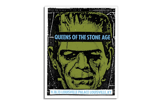 Queens of the Stone Age by Print Mafia