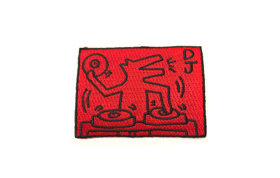 Patch [DJ Dog] by Keith Haring Pop Shop