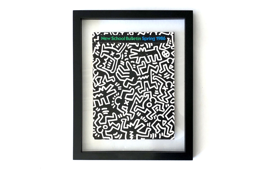 New School Bulletin by Keith Haring