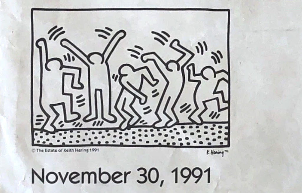 GMHC Dance-a-Thon by Keith Haring