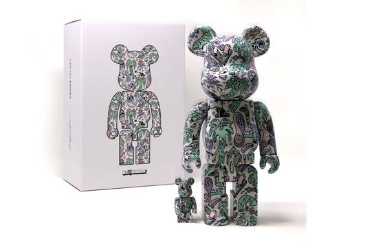 Coastline Bearbrick by Steven Harrington