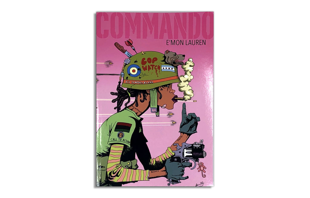 Commando Book by E'mon Lauren