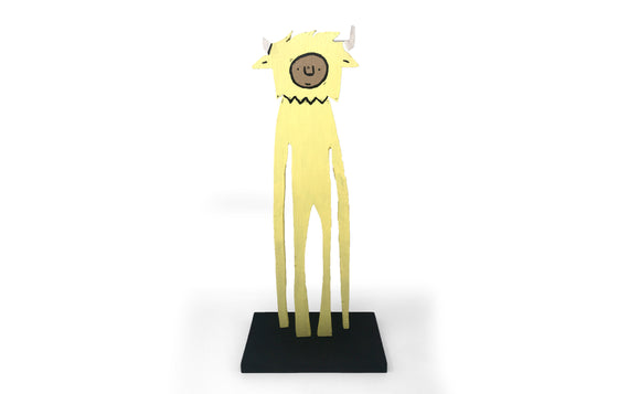 Statuette [Yellow] by Penny Pinch