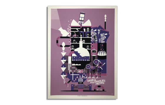 Charlie & The Chocolate Factory by Horse Design