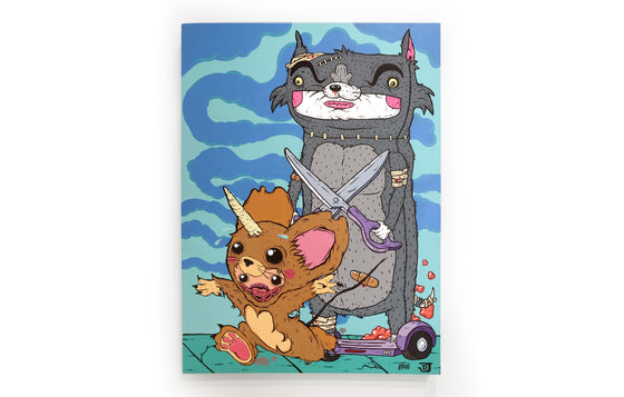 Tom and Jerry by Elloo x Joey D