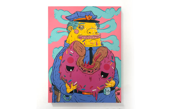 Chief Wiggum by Elloo x Joey D
