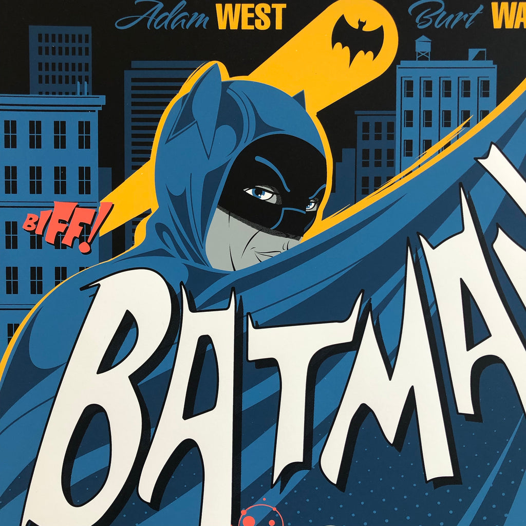 Batman 1966 by Mike Mahle