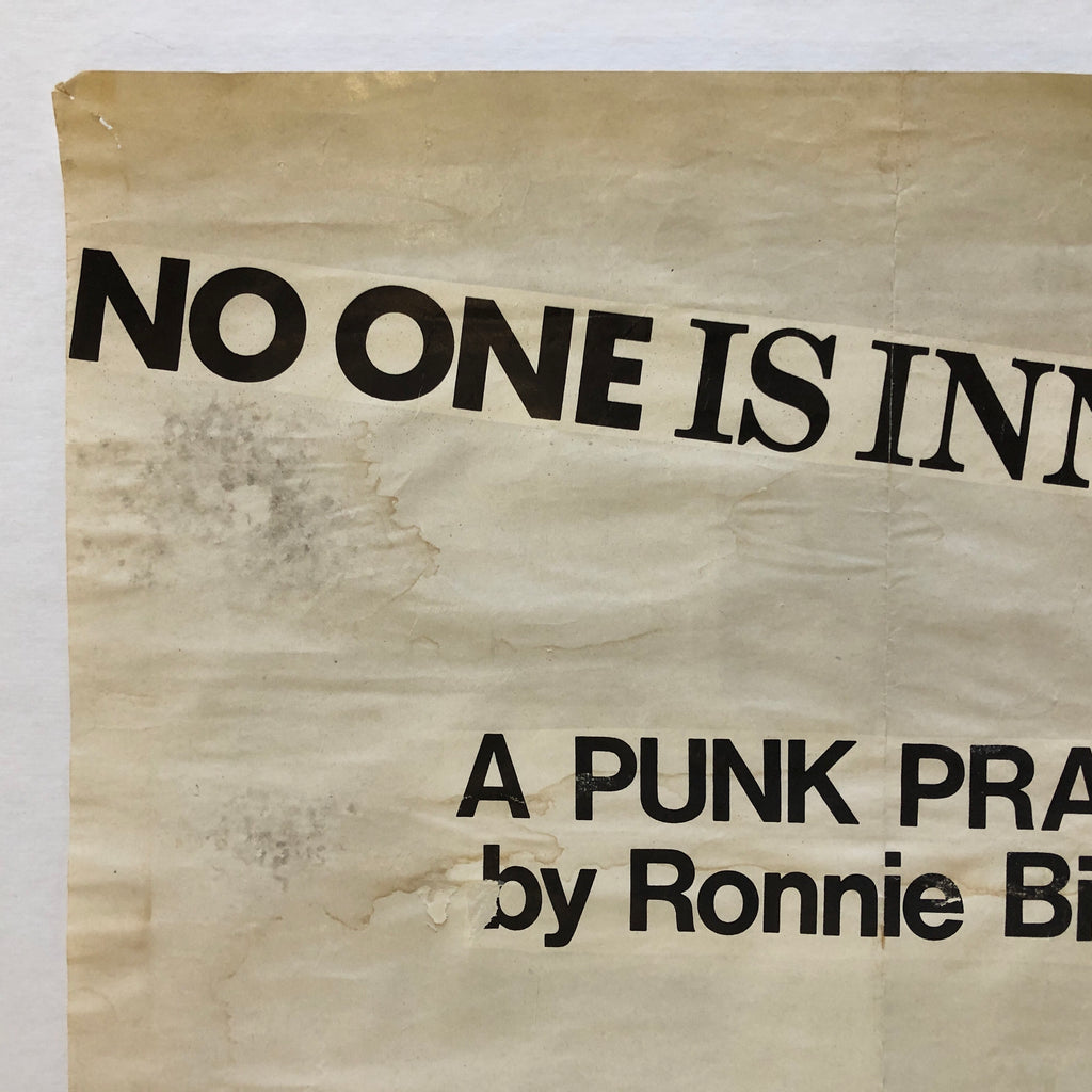 No One is Innocent - A Punk Prayer by Ronnie Biggs