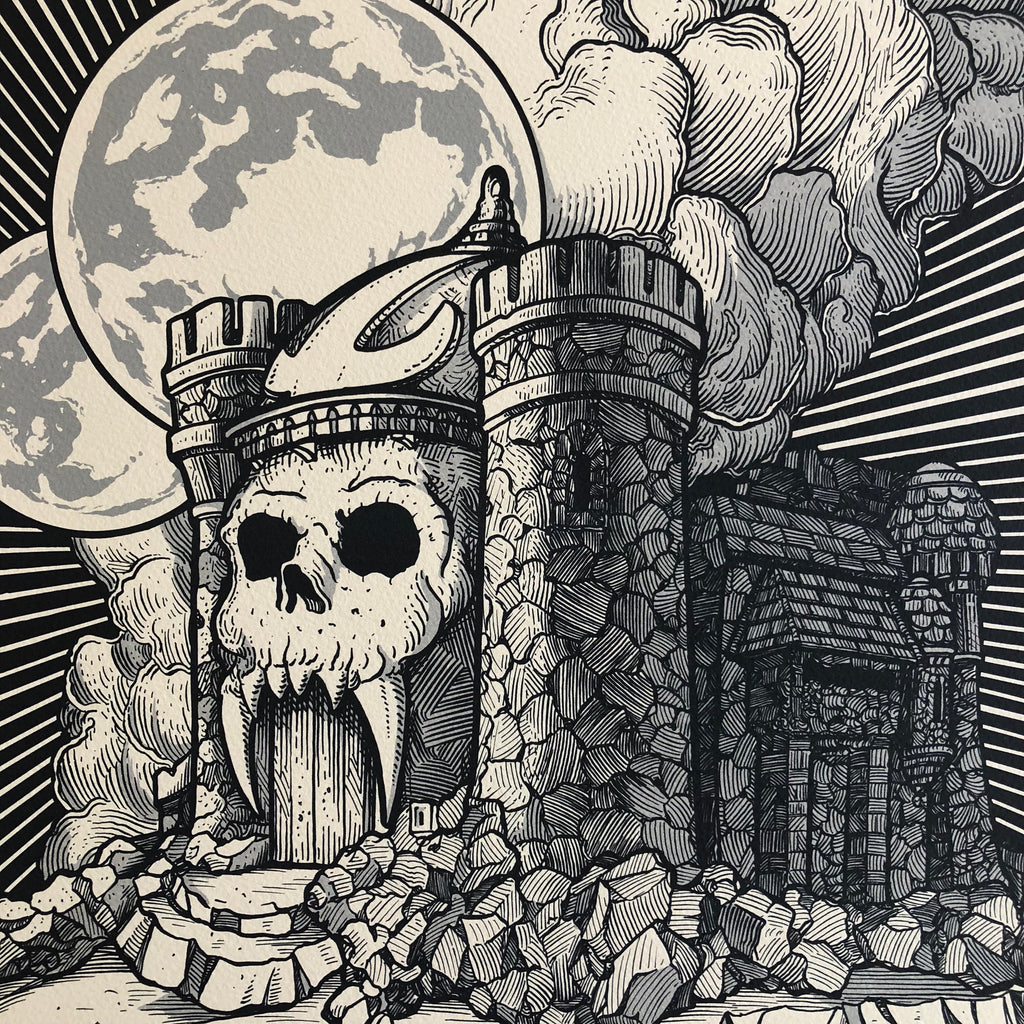 Castle Greyskull by JM Dragunas