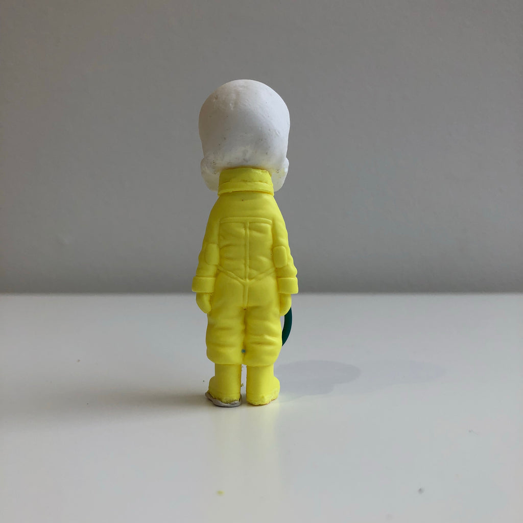 Mini-Deathnaut [White/ Yellow] by Klav