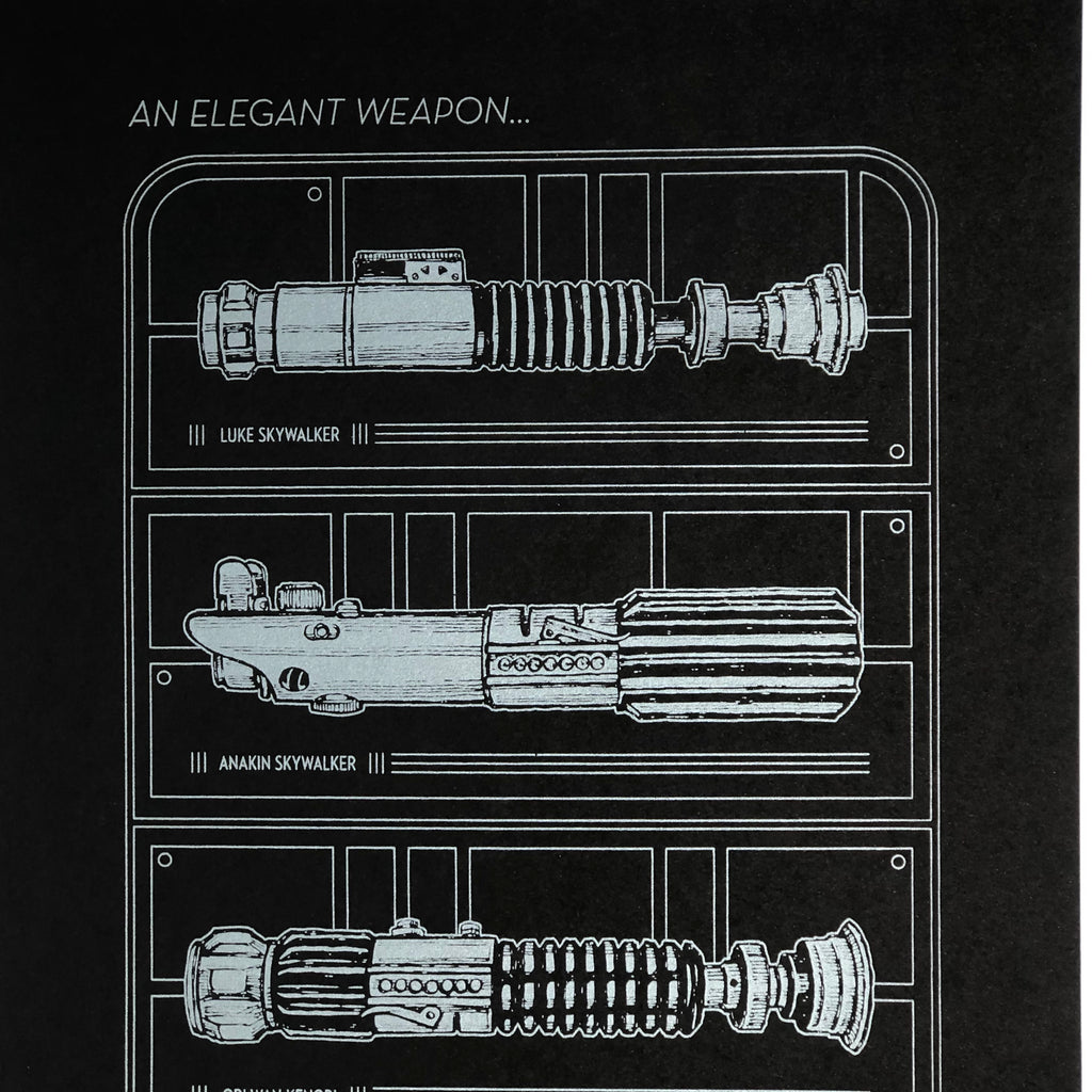 Elegant Weapon [Black] by Steve Chanks