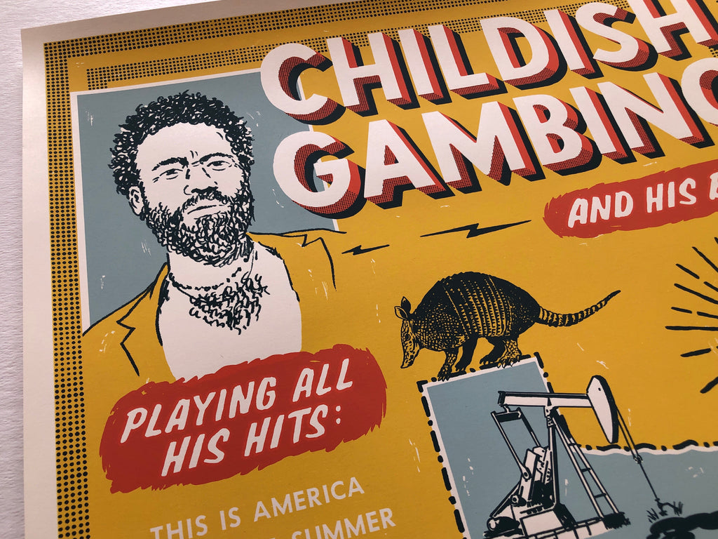 Childish Gambino by Ryan Duggan