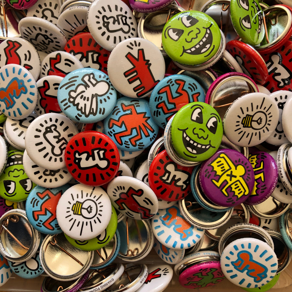 Buttons by Keith Haring Pop Shop