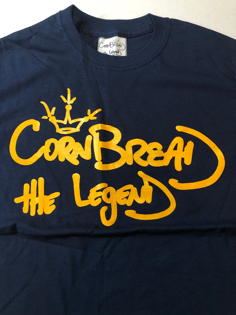 T-Shirt Crown [Navy] by Cornbread the Legend