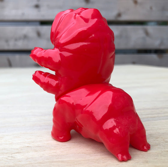 Tarbus the Tardigrade [Red] by Doom Co Designs -