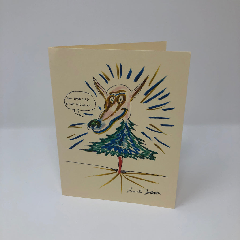 Christmas Card by Daniel Johnston