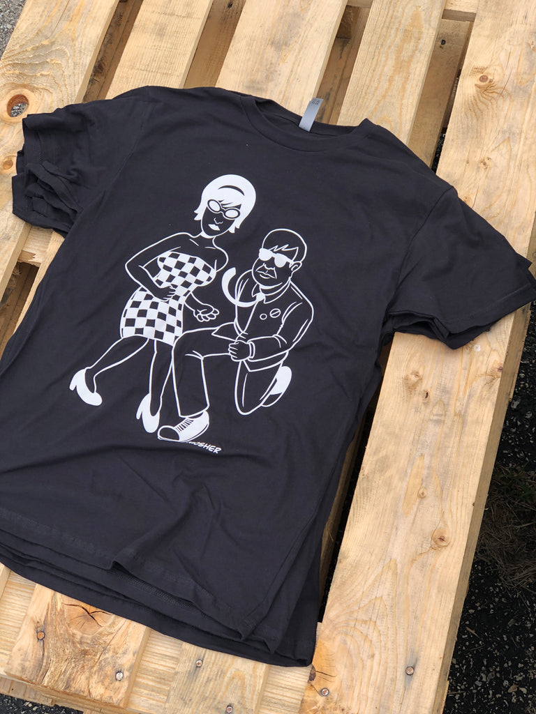 Ska Ska Ska T-shirt by Mosher