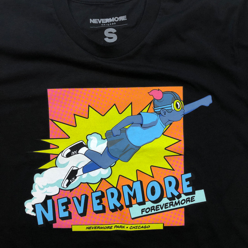 Nevermore Park T-Shirt by Hebru Brantley