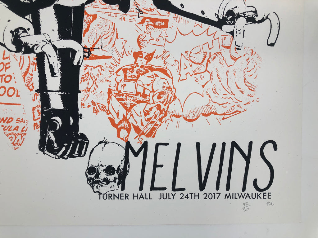 The Melvins by BPRD