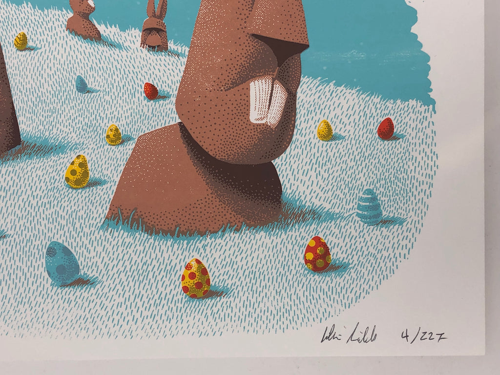 Easter Island by Jillian Nickell