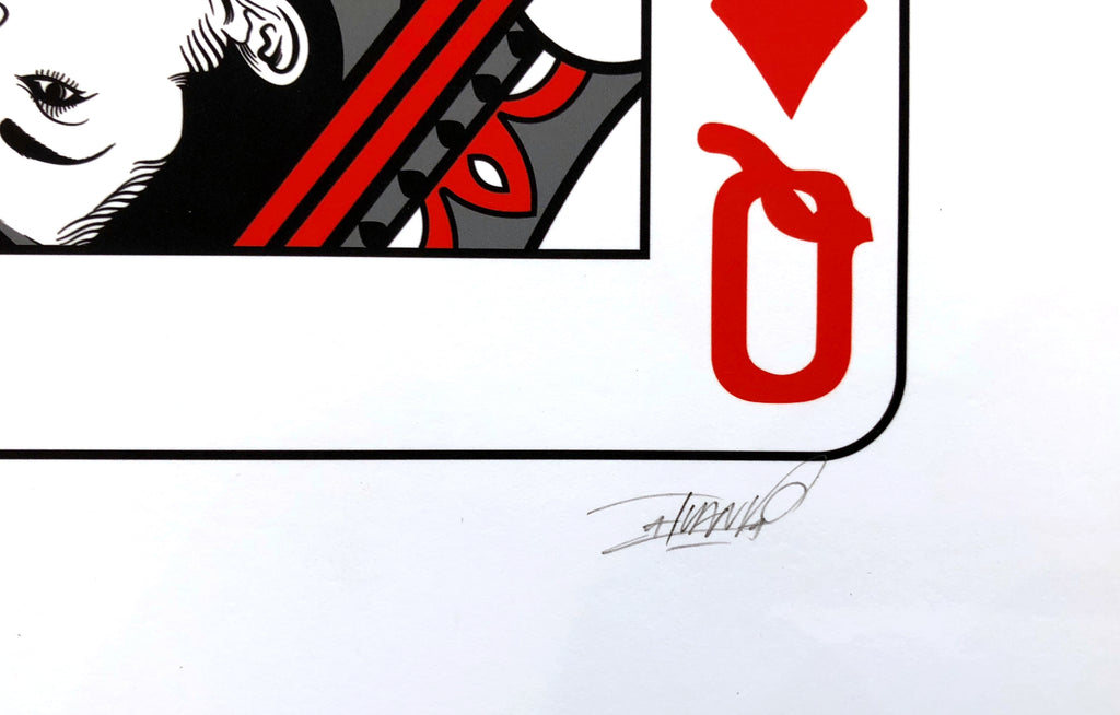 Queen of Diamonds [Poker] by Ivan Vazquez