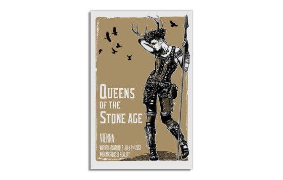 QOTSA with Masters of Reality [Vienna 2013] by Jacknife Prints