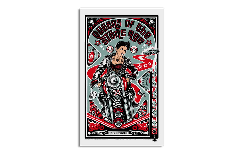 QOTSA [Wembley 2013] by Jacknife Prints
