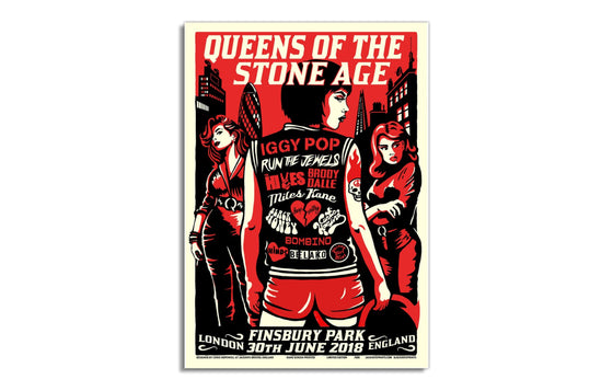 QOTSA [London 2018] by Jacknife Prints
