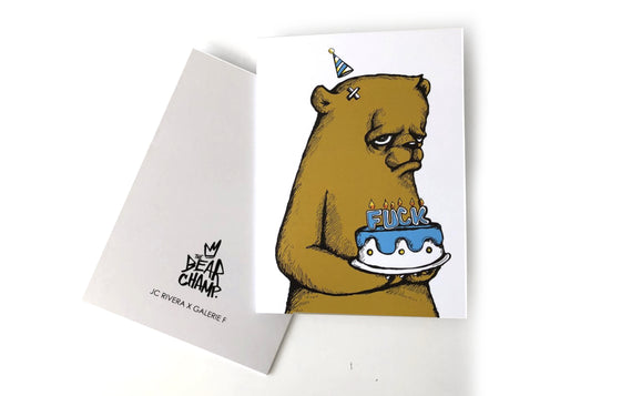 Notecard [Fuck Cake] by JC Rivera