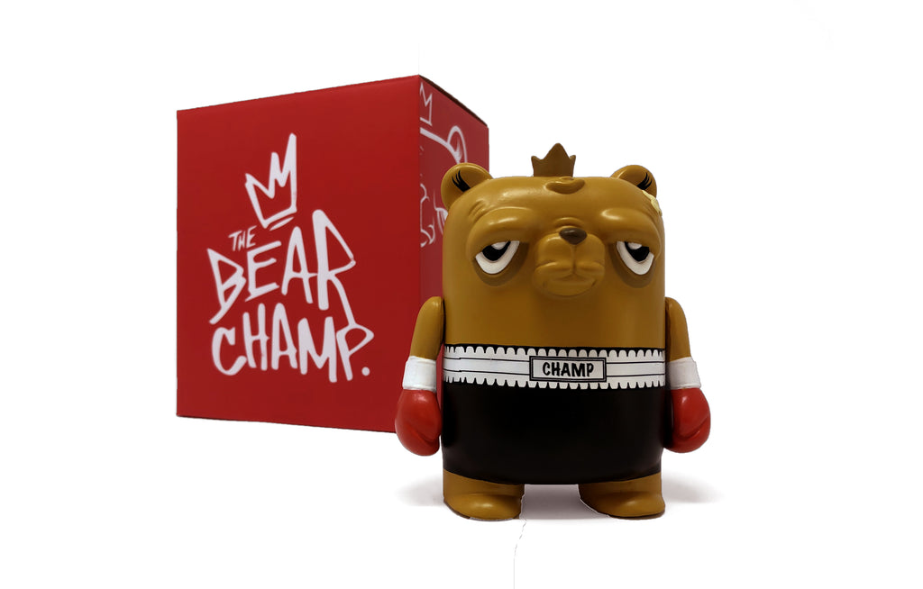 The Bearchamp Vinyl Figure by JC Rivera • Galerie F Exclusive