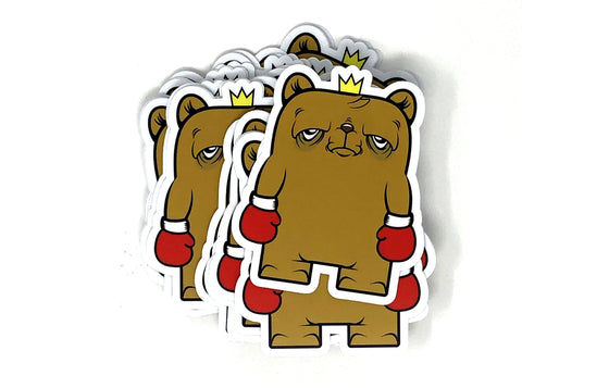 Sticker [Standing Strong] by JC Rivera