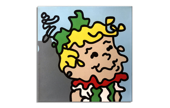 Elroy Jetson by Wizard Skull - Street Art Original Painting