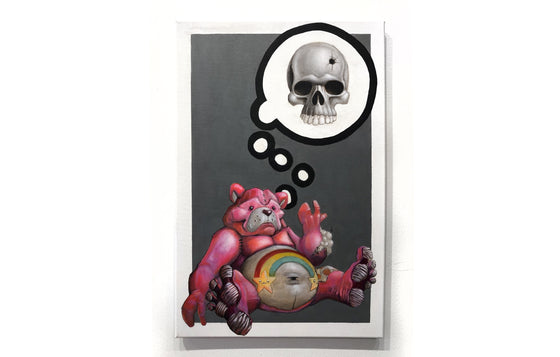 I Don't Care Bear by James Decker