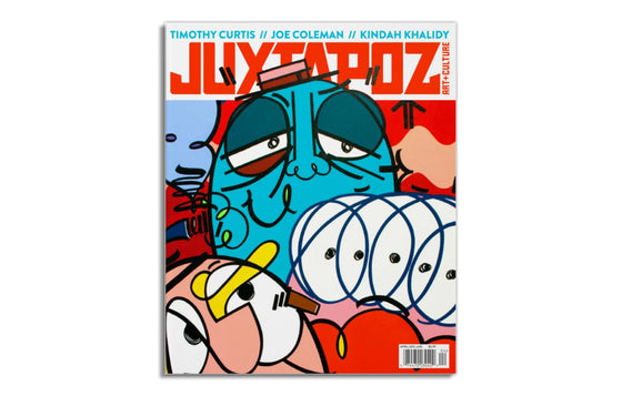 Juxtapoz Magazine April 2017 No.195