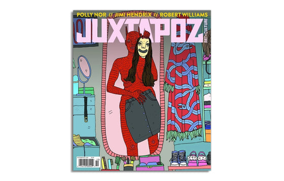 Juxtapoz Magazine October 2017 No.201
