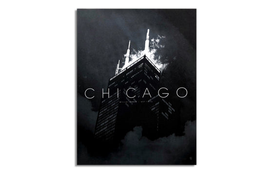 Chicago, Willis Tower [Dark Knight] by Justin Van Genderen