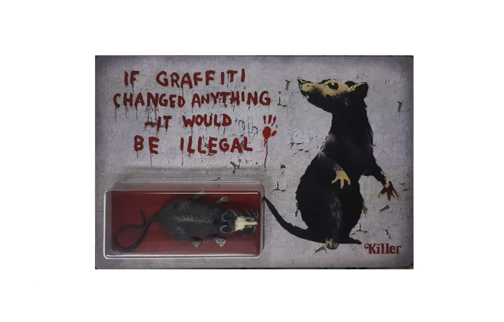 Banksy Rat by Killer Bootlegs